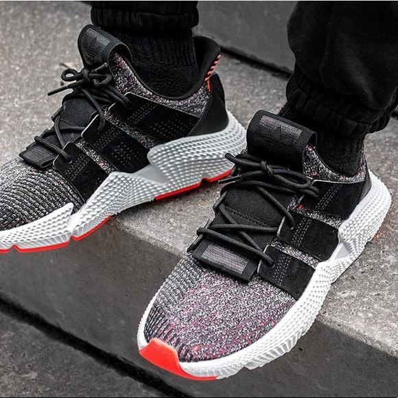 condón Evolucionar Enseñando  adidas Shoes | Nwt Prophere Cq3022 Mens Blackred | Poshmark